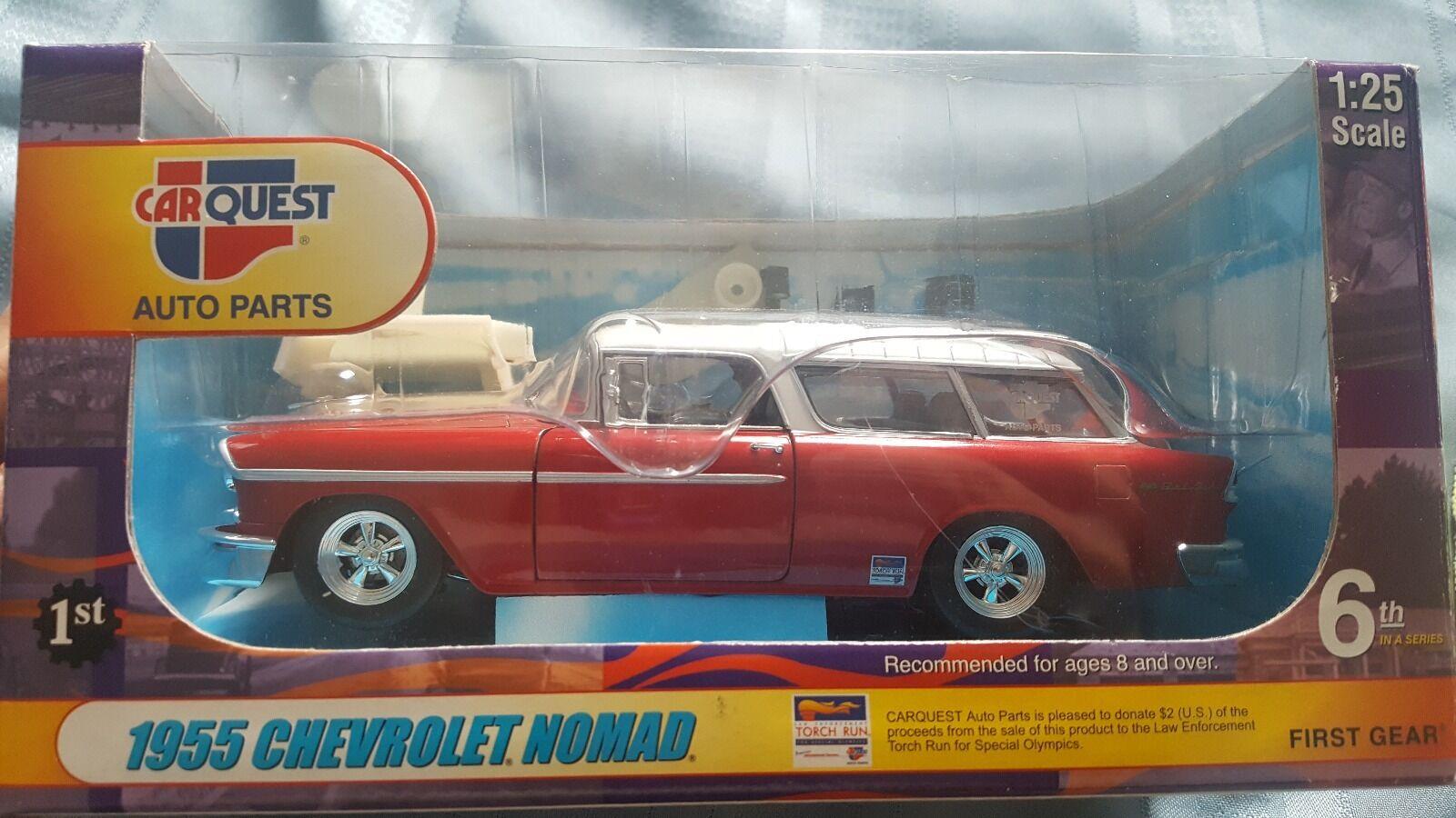 1955 Chevrolet Nomad, First Gear 1 25 Die Cast modelllllerler bilquest bil Pkonsts