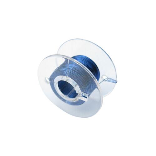 Cobre charol alambre 1x0, 15mm azul 10 metros Alambre cu en bobina modelo ferroviario modellbau