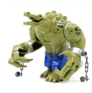 Killer Croc Lego Avengers Mini Figure Villain Marvel Dc Batman
