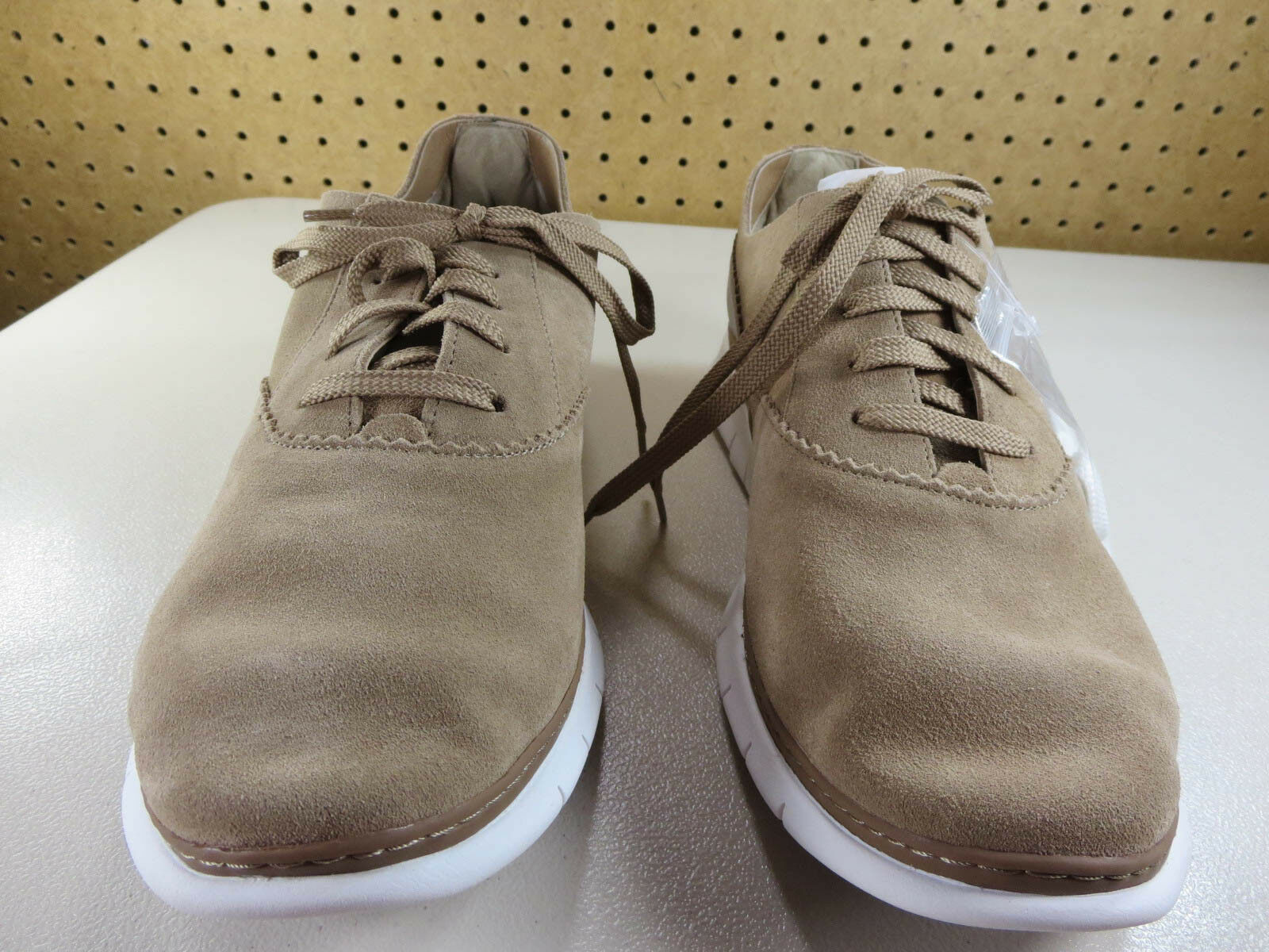 NEU Vionic Damenss tan Taylor suede Orthotic oxford sneakers 11 M NWOB