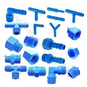 TEFEN-Nylon-Pipe-Fitting-Plastic-Barbed-Hosetail-Joiner-Tubing-Connector-Blue