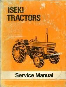Iseki-Tractor-TS3510-TS4010-TS4510-Workshop-Service-Manual