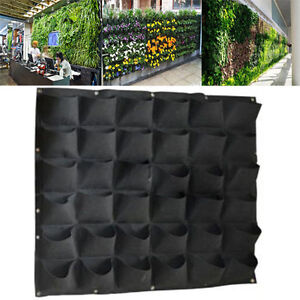 Merveilleux Image Is Loading 36 Pocket Outdoor Vertical Greening Hanging Wall Garden
