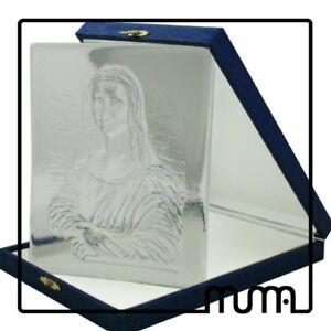 Icona-vetro-Murano-formella-figura-Monna-Lisa-Gioconda-da-collezione