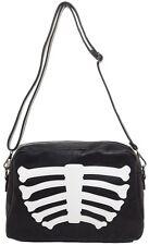 Iron Fist Wishbone Clutch Bag NEW Skeleton Bones Goth Punk Rock Horror Halloween