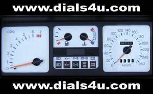 FORD-SIERRA-COSWORTH-RS500-1982-1993-240km-h-or-260km-h-WHITE-DIAL-KIT