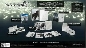 NIER REPLICANT VER.1.22474487139... WHITE SNOW EDITION [PS4] SOLD OUT