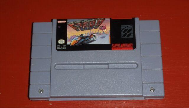 F-Zero (Super Nintendo Entertainment System, 1990 SNES) -Cart Only