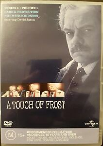 A-Touch-of-Frost-Series-1-Volume-1-DVD-2-Disk-Region-4-Very-Good-Condition
