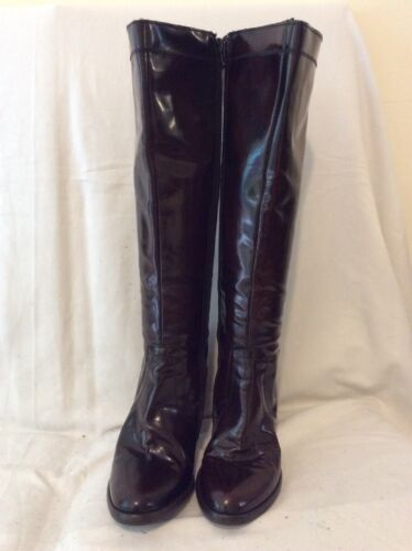 38 Knee Brown Boots Leather Size High Bagatt Tt 1Owq88