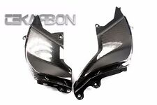 2009 - 2015 Aprilia Mana 850 Carbon Fiber Side Tank Panels - 2x2 twill