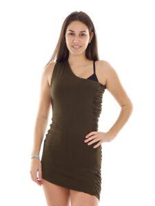 Richard Kravetz One Abendkleid Kleid shoulder Stretchkleid Braun r14qr0fB