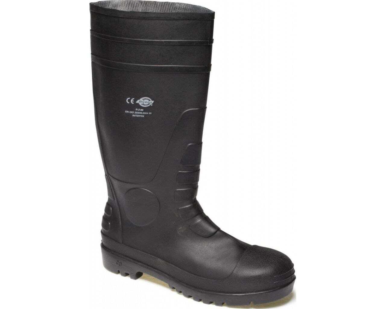 Dickies Super Safety Wellingtons Mens Rubber Steel Toe Midsole Boots UK6-12
