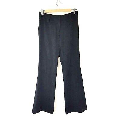 Ex River Island Purple Orange Vintage 70S Style Flared Trousers Size 6 8 10