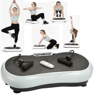 vibration fitness platform machine plate body shaper exercise massage vibro slim ebay. Black Bedroom Furniture Sets. Home Design Ideas