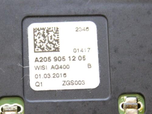 Mercedes W205 W253 W238 W463 A2059051205 Antenne Telefon Hinten Links