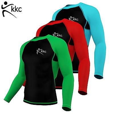 Men Thermal Winter Compression Base Layer Skin Fit FleeceTop Long Sleeve Roubax