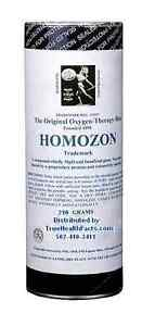 Homozon - The Original -Super Detox with Oxygen-Double Strength, Fresh 230 grams