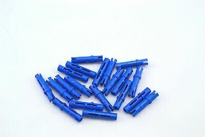 Lego 5 New Blue Technic Pieces Pin 3L with Friction Ridges Lengthwise
