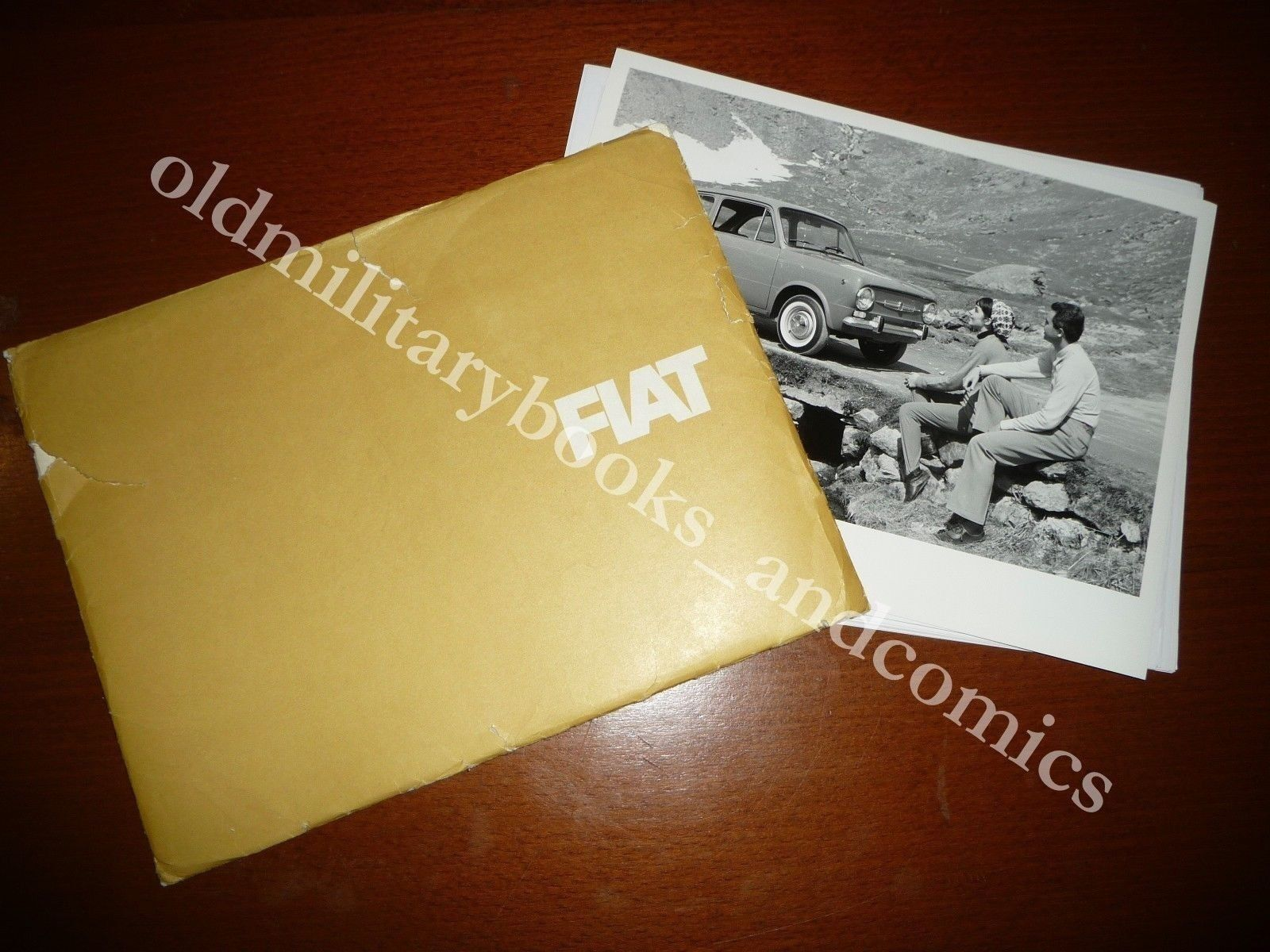 RACCOGLITORE PUBBLICITARIO 16 FOTO DESCRITTIVE VARIE FIAT LETTERA 850 IDROMATIC