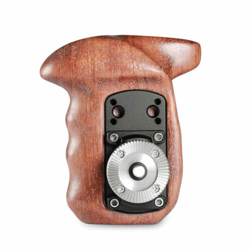 SmallRig Camera Wooden Handle Grip Right Side Mount Support with Arri Rosette
