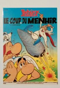 Carte-postale-affiche-film-Asterix-et-le-coup-du-Menhir