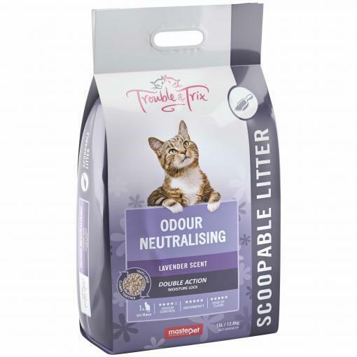 Trouble and Trix Odour Neutralising Lavender Litter 15L