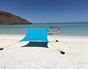 Neso Tents Beach Tent with  Sand Anchor, Portable Canopy Sun Shelter (Teal)  manufacturers direct supply