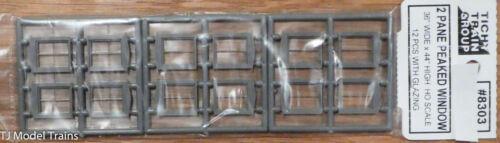 "2 Pane Peaked Window Tichy Train Group HO #8303 36/"" W x 44/"" H"