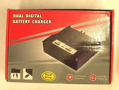 BP-U60 BP-U90 Dual Digital Charger for Sony PMW-EX1 PMW-EX3  PMW-100 PMW-150