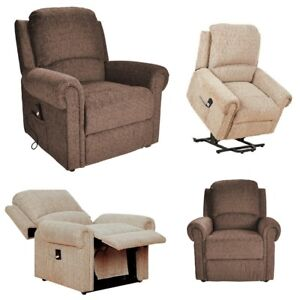 Image is loading Tetbury-electric-riser-recliner-chair-rise-and-recline-  sc 1 st  eBay & Tetbury electric riser recliner chair rise and recline lift mobility ...