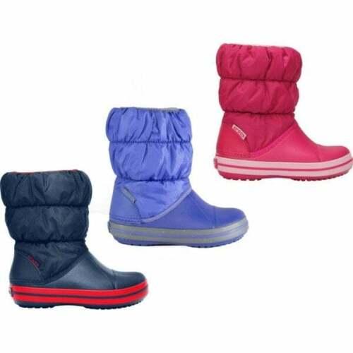 Crocs 14613 Winter Puff Boot Enfants Garçons Filles Unisexe Chaud Isolés Bottes de neige