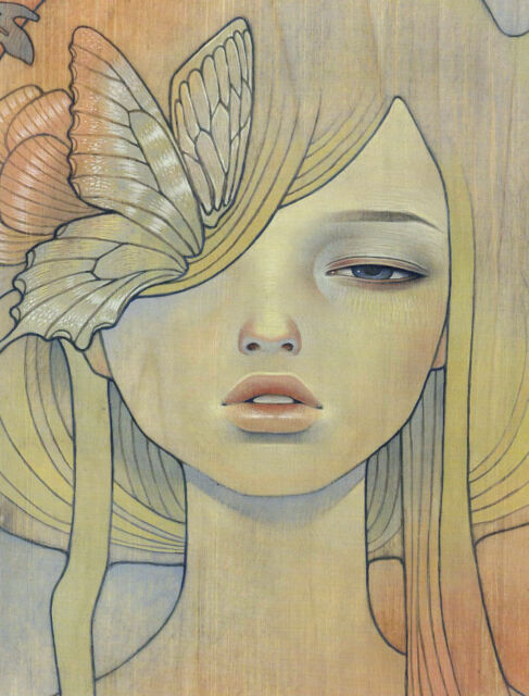 Audrey Kawasaki Memai unframed Zine Page 8x10 Frame it anyway you want!