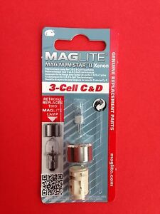 3-Cell C And D Xenon Maglight Bulb