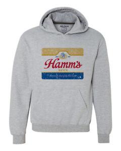 Hamms-Beer-Hoodie-retro-vintage-style-distressed-print-grey-graphic-tee-shirt