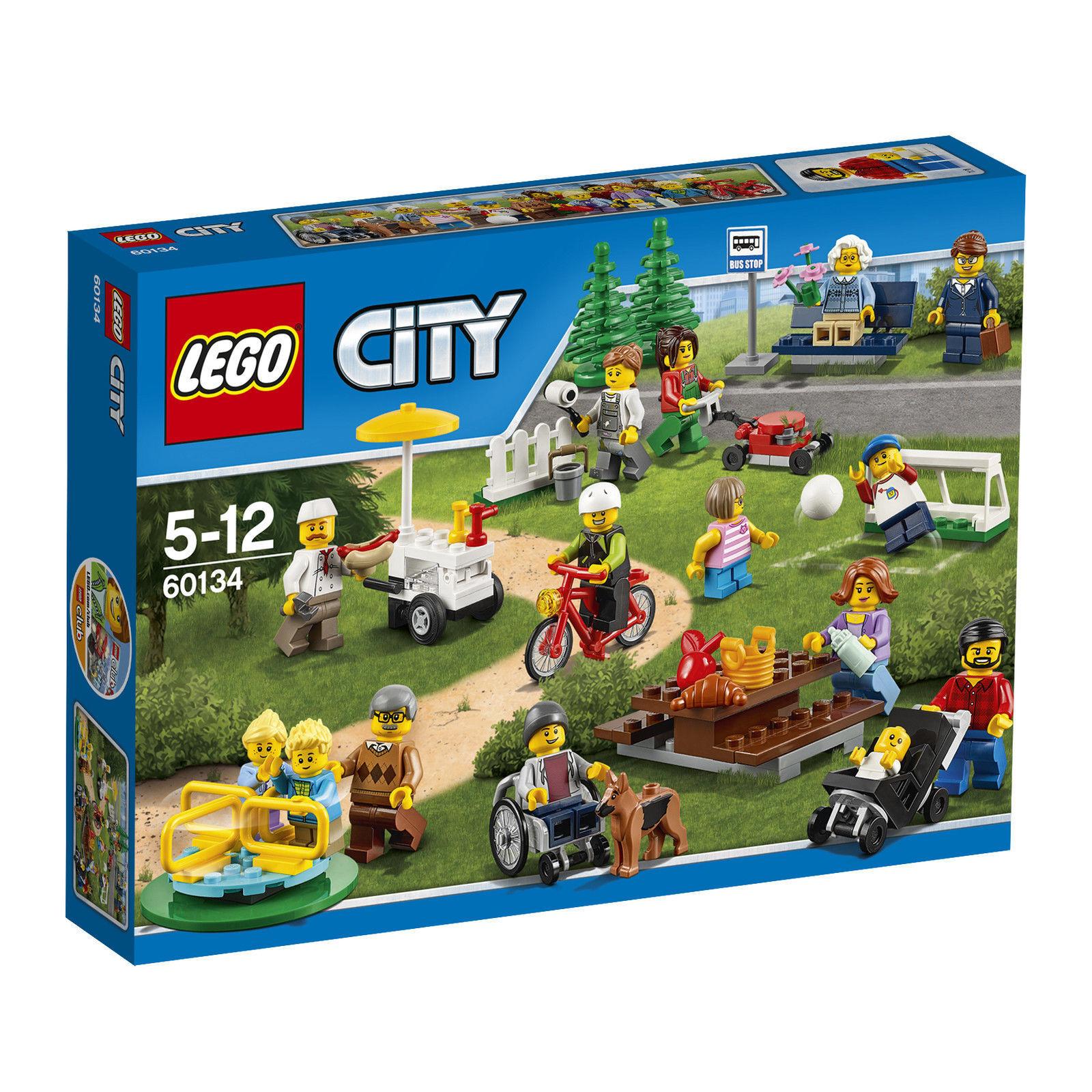 LEGO City Stadtbewohner (60134) -NEU- Minifiguren