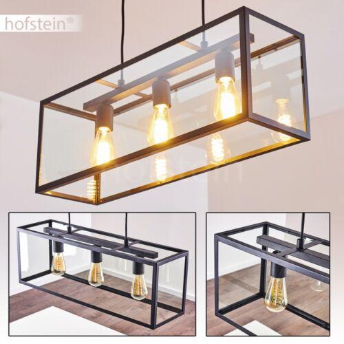 Retro Hänge Leuchten Pendel Lampen schwarze Ess Wohn Schlaf Zimmer Beleuchtung