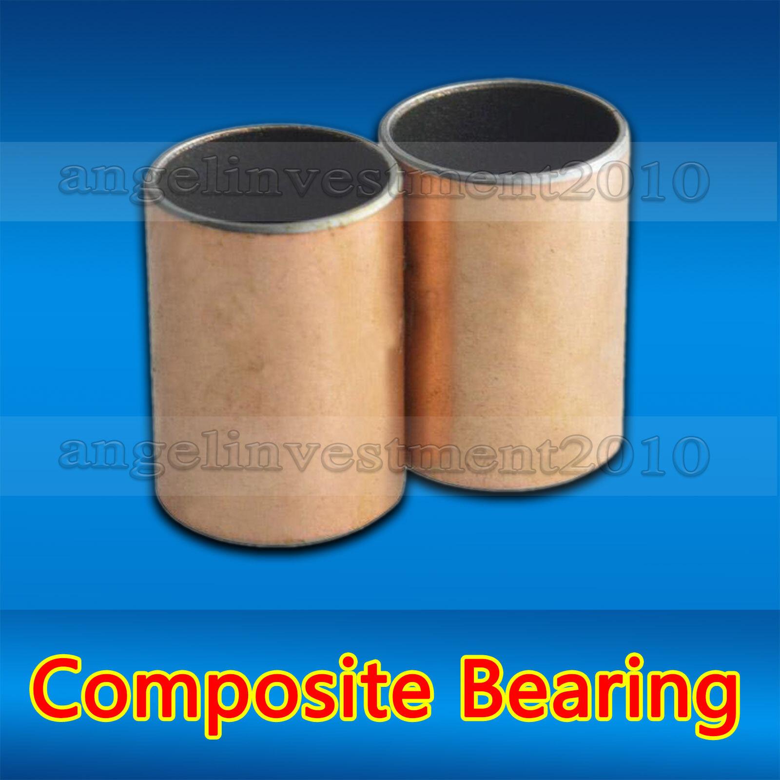 25mm 20pcs SF-1 self lubricating composite bearing bushing sleeve 14mm 16mm