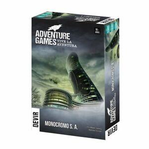 Adventure-Games-Monocromo-S-A-Juego-de-Mesa