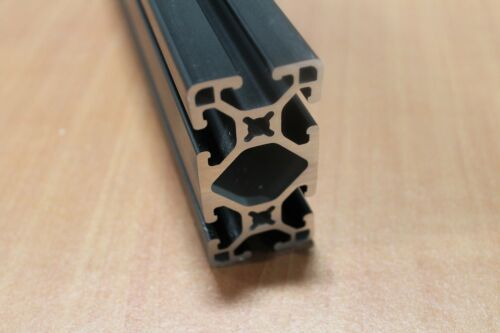 80//20 Inc TSlot Lite Smooth Aluminum Extrusion 15 Series 1530-LS x 12 Black H1-3