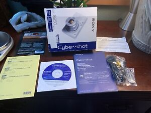 NO-CAMERA-Sony-Cyber-shot-DSC-S950-Accessories-And-Manual-ONLY-Factory-Box