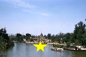 Disneyland-1956-Tom-Sawyer-Island-Canoes-PHOTO-Kodachrome-Slide-Walt-Disney-12