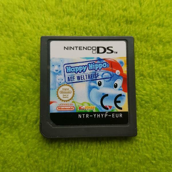 Nintendo DS - Happy Hippos auf Weltreise (EUR) (nur Modul)