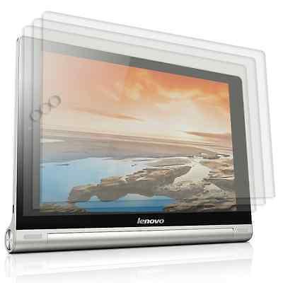 3 x Display Schutz Folie für Lenovo Yoga Tablet 10 Kratzfest Kristallklar