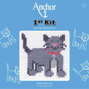 Anchor-1st-Kit-Poppy-10009-Counted-Cross-Stitch
