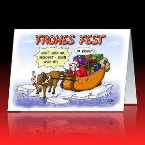 humorvolle weihnachtskarten individueller eindruck firmenkunden lustige karten ebay. Black Bedroom Furniture Sets. Home Design Ideas