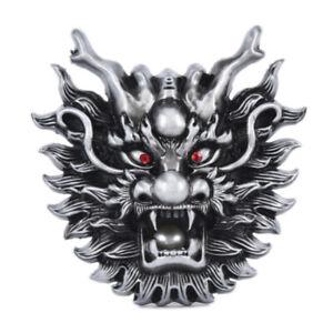 Mens-Dragon-Animal-Metal-Alloy-Cowboy-Cowgirl-Fashion-Punk-Belt-Buckle-jiT-LFIT