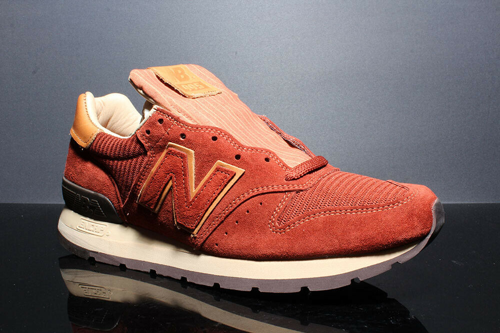 NEW BALANCE 995 HOME PLATE M995DBG BROWN TAN SIZE  9