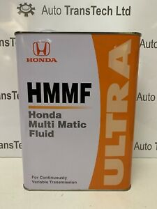 genuine-honda-insight-1-3-cvt-automatic-gearbox-oil-ultra-multi-matic-fluid-4L