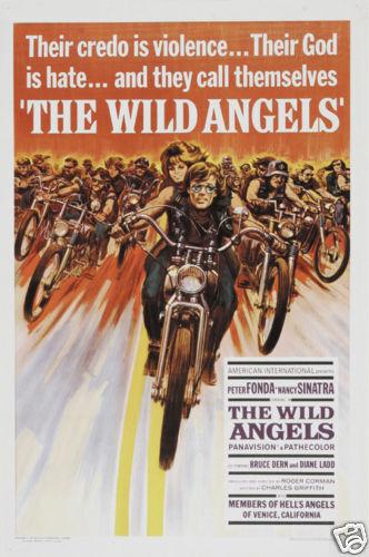 The wild angels Peter Fonda vintage movie poster print